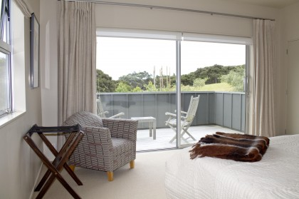 Main bedroom and private deck